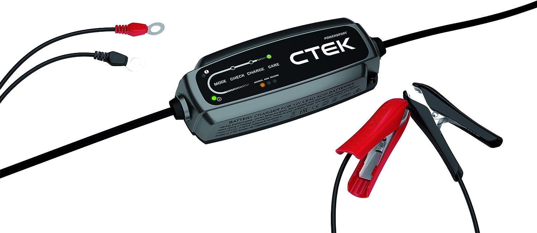 Ctek Ct5 Powersport Hochfrequenz Ladegerät Perfekt Für Alle Motorräder Quads Jet Skis Und Motorschlitten Auto
