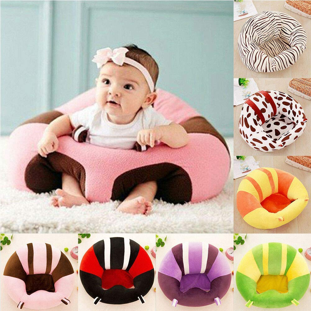 Baby Sofa Learn Sitting Chair Support Sitter Baby Prop a Pillar Tummy Time Comfortable Nursing Pillow Soft Baby Seats Only Cover NHLL ONLY Cover Color 3