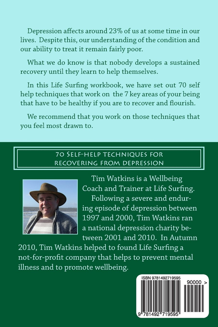 Depression Workbook: 70 Self-help techniques for recovering from ...