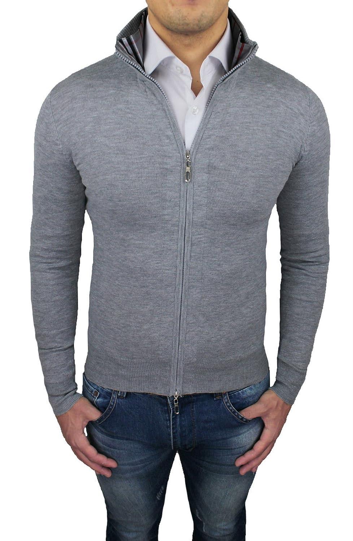 Tony Backer Men's Cardigan grey grey Large