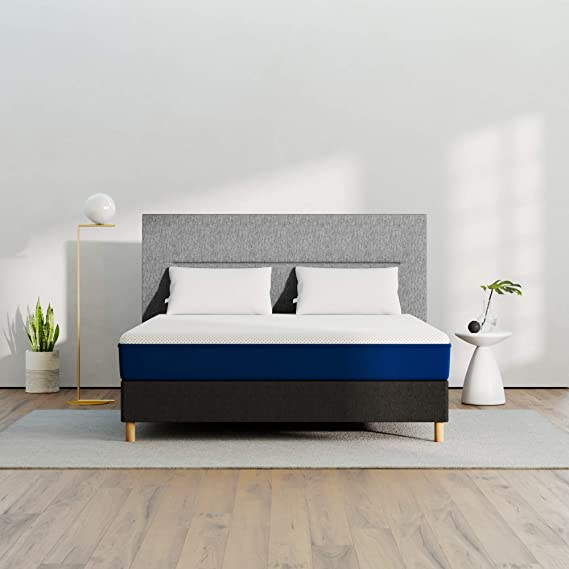 AMERISLEEP AS1 Memory Foam Mattress - Queen (Firm) - Bed in a Box | Celliant Cover | Bio-Pur Plant Based Material | Cooler Than Memory Foam | USA | 20-Yr Warranty