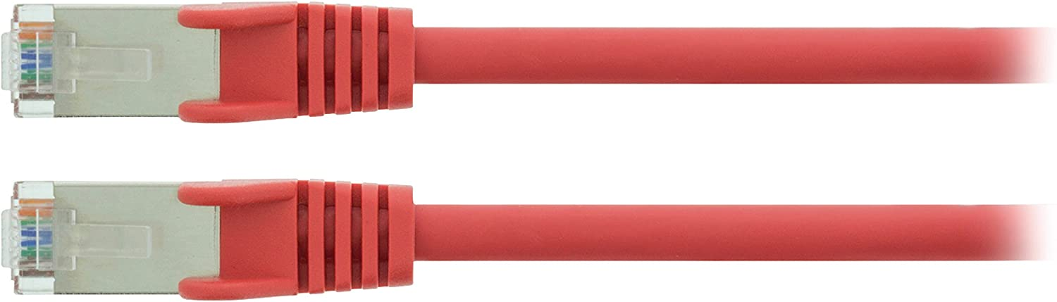 Network Cable/ /Red Network Cable S-FTP Valueline vlcp85121r05/0.5/m CAT5E SF//UTP 0.5/m, Cat5e, Rj45/SF//UTP, RJ-45/Male//Male, S-FTP