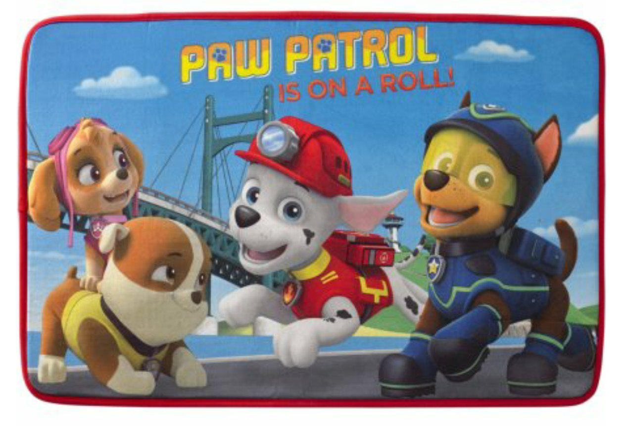 Paw Patrol Is On a Roll Bathroom Rug