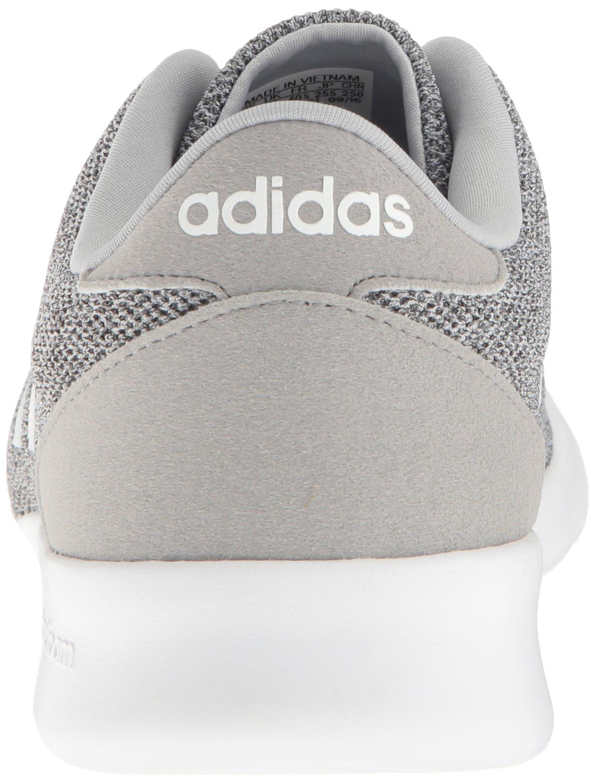 adidas Women's Cloudfoam Qt Racer w Running Shoe, Clear Onix/White/Light Onix, 5 M US by adidas (Image #2)