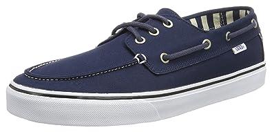Vans U Authentic - Baskets Mode Mixte Adulte, Bleu (Bleu/Marshmallo), 46
