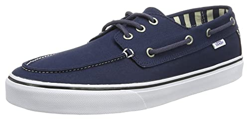 Vans MN Chauffeur SF, Zapatillas para Hombre, Azul (Dress Blues/Stripes), 46 EU: Amazon.es: Zapatos y complementos