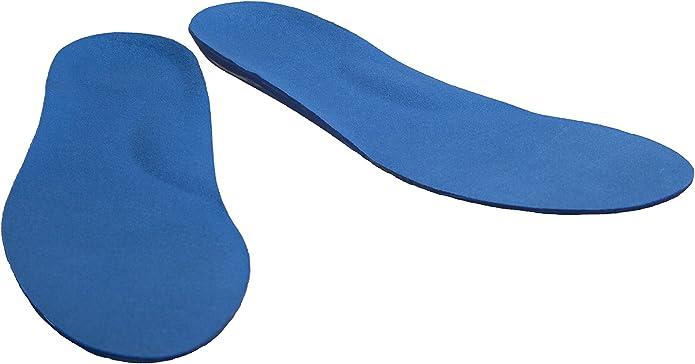 serie deportiva profesional Pro11 Plantillas ortop/édicas con almohadillas absorbentes de impactos para la zona del metatarso y tal/ón para fascitis plantar