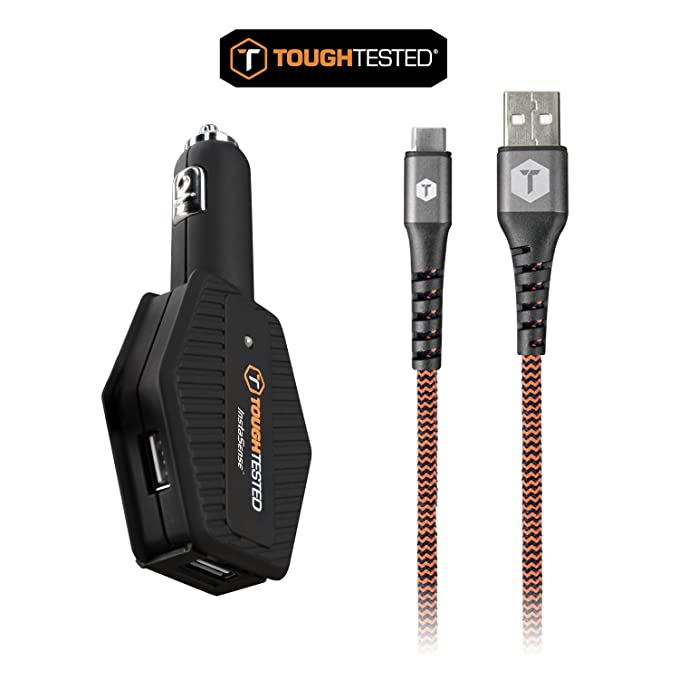 Amazon Com Power Share Multi Usb Car Charger Kit 4 8 Amp 3 Usb
