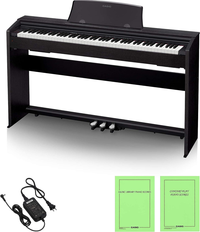 CASIO 電子ピアノ Privia PX-770BK