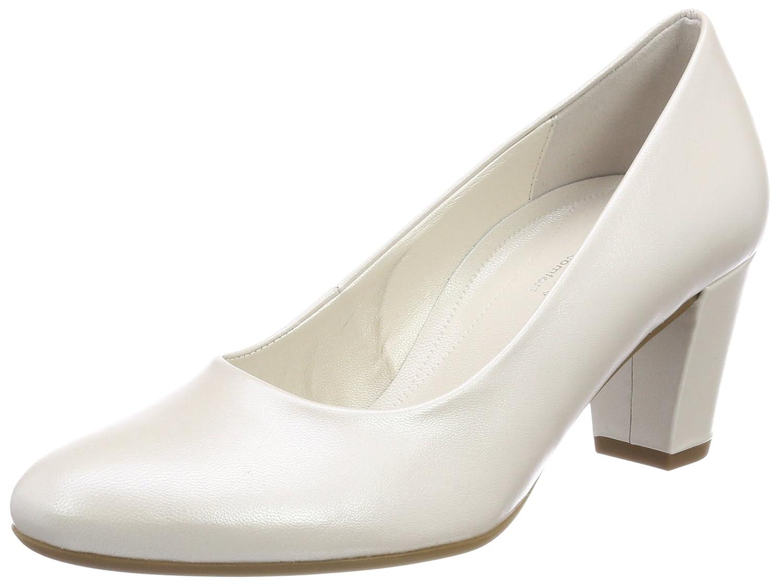 Weiß (Off-Weiß (Natur)) Gabor Damen Comfort Fashion Pumps