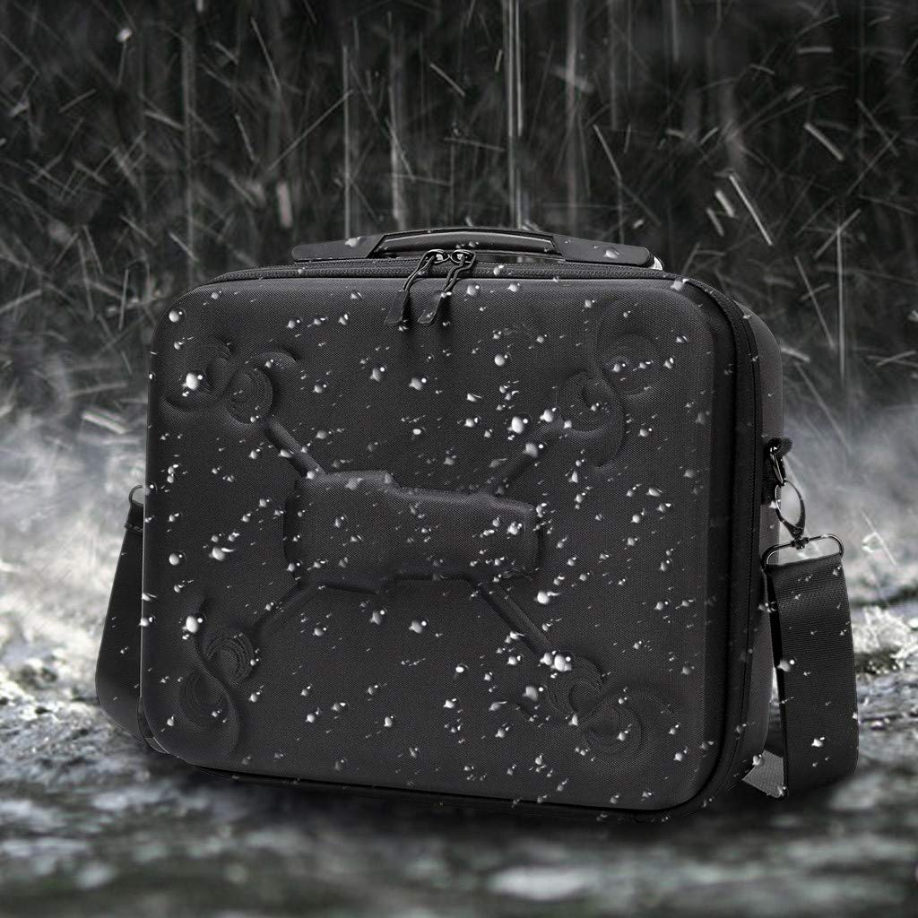 Tuu Waterproof Portable Storage Bag Carry Case for DJI Mavic 2 & Smart Controller (Black) by Tuu (Image #2)