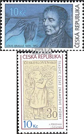 Prophila Collection República Checa Michel.-No..: 584,586 (Completa.edición.) 2009 Braille, filatelia (Sellos para los coleccionistas): Amazon.es: Juguetes y juegos