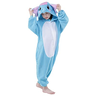 CANASOUR Christmas Costumes Anime Cosplay Animal Kids One Piece Pajamas: Clothing