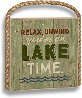 product image for Imagine Design Great Outdoors Lake Time Hanging Plaque