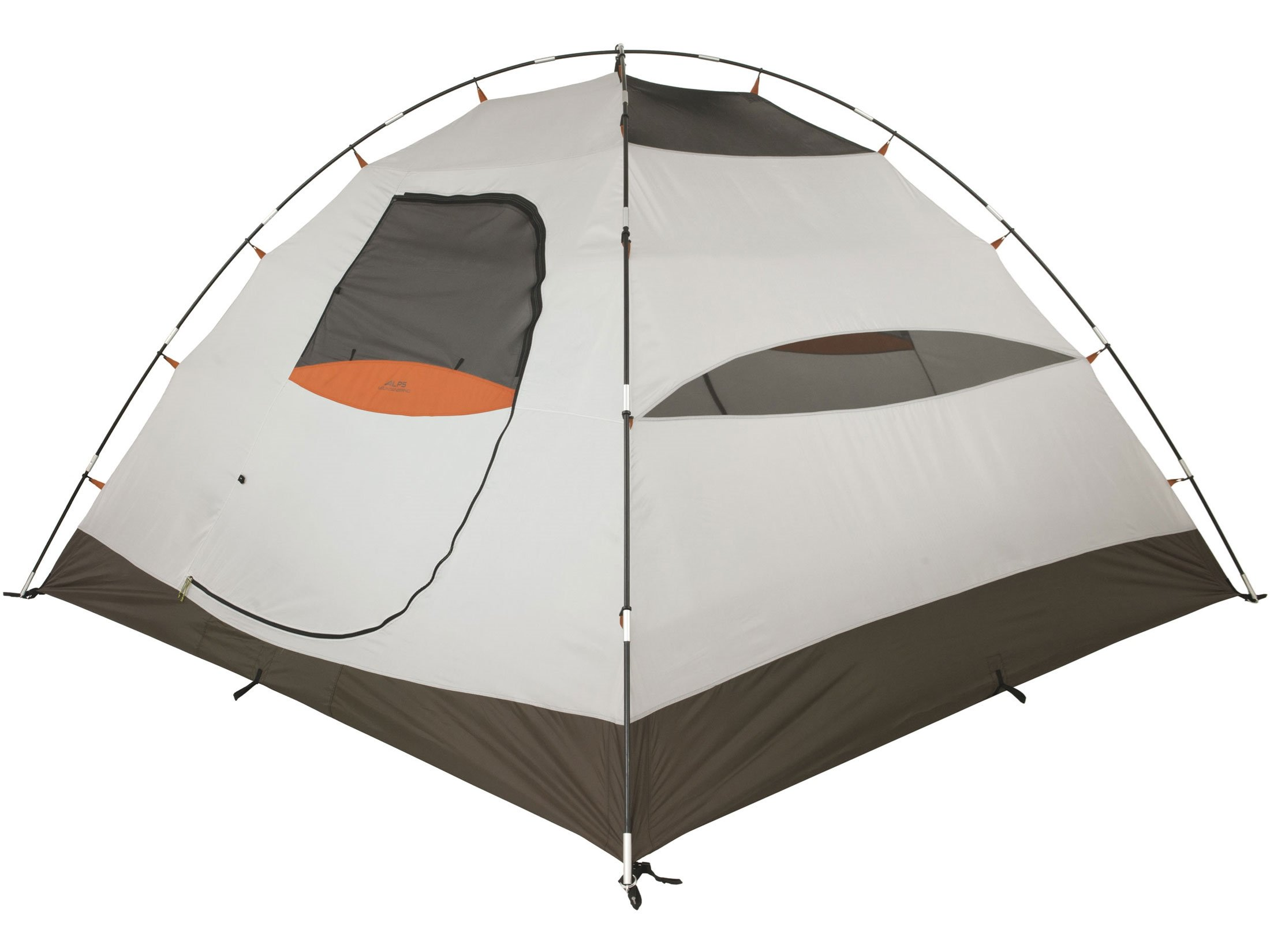 ALPS Mountaineering Taurus 6 Dome Tent 120'' x 120'' x 72'' Polyester Green and Orange
