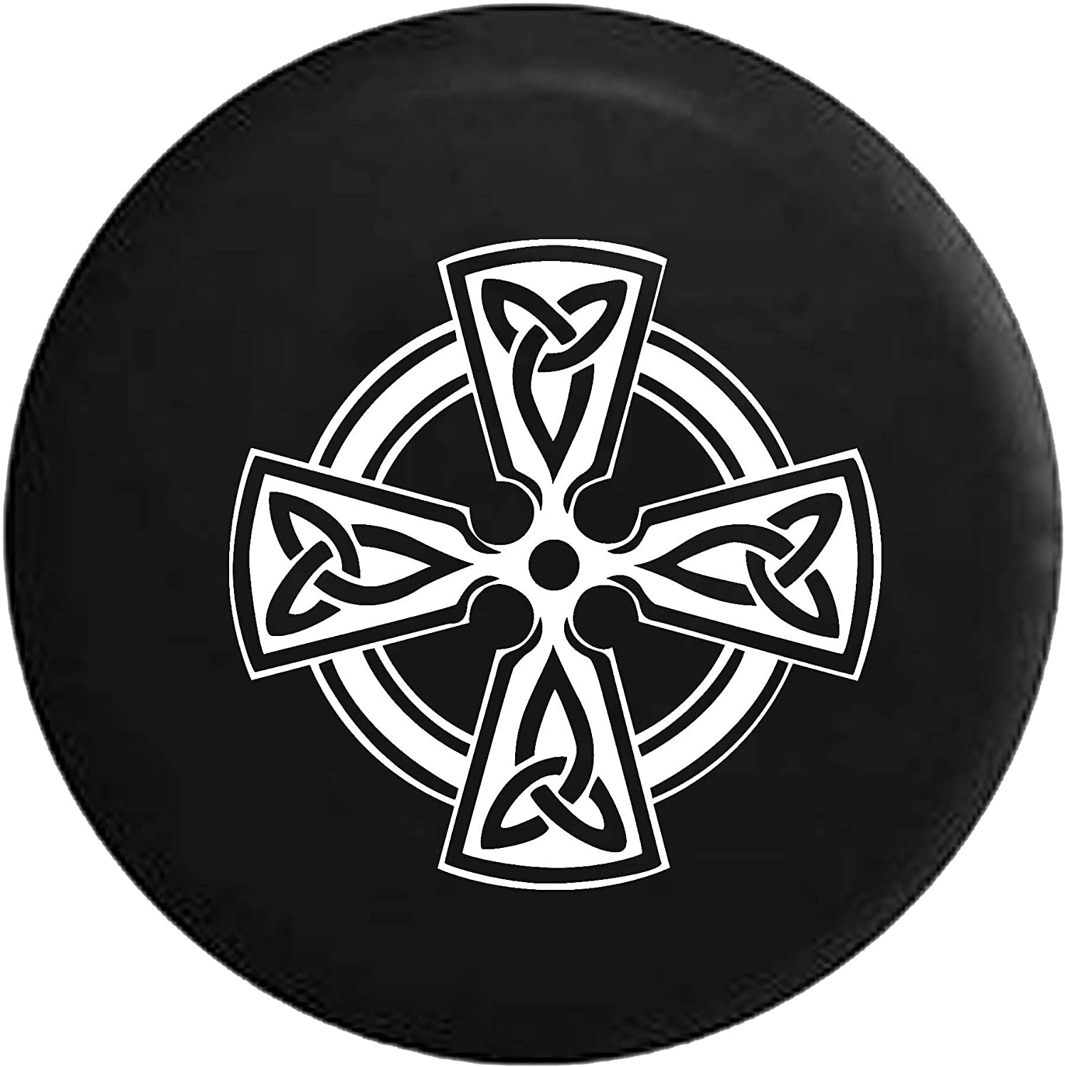Patricks Day Irish American Flag Tire Covers Car SUV Camper Travel Trailer Spare Tire Wheel Covers BAG9S-G St