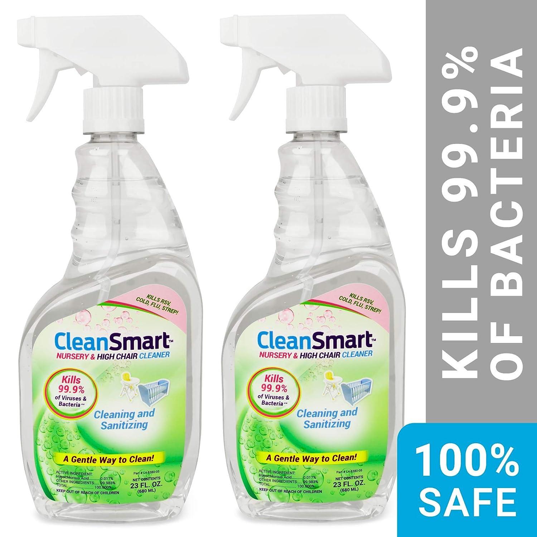 Amazon.com: cleansmart Nursery & alta silla Cleaner, elimina ...