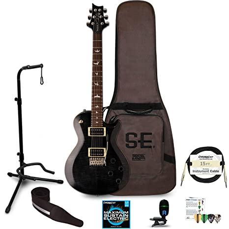 PRS SE Mark Tremonti Custom guitarra eléctrica con ChromaCast accesorios