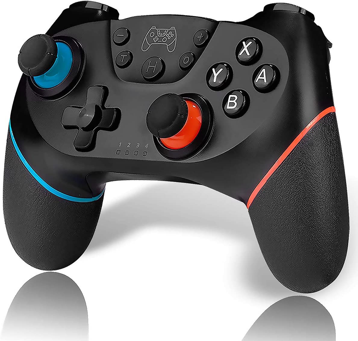 CLEVO Switch Controllers, Wireless Pro Controller for Nintendo Switch/ Nintendo Switch Lite - Gamepad Joypad Supports Gyro Axis, Turbo and Dual Vibration
