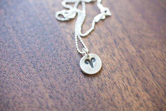 Amazon Aries Necklace Zodiac