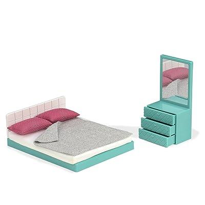 Lori Doll Cozy Bedroom Set: Toys & Games
