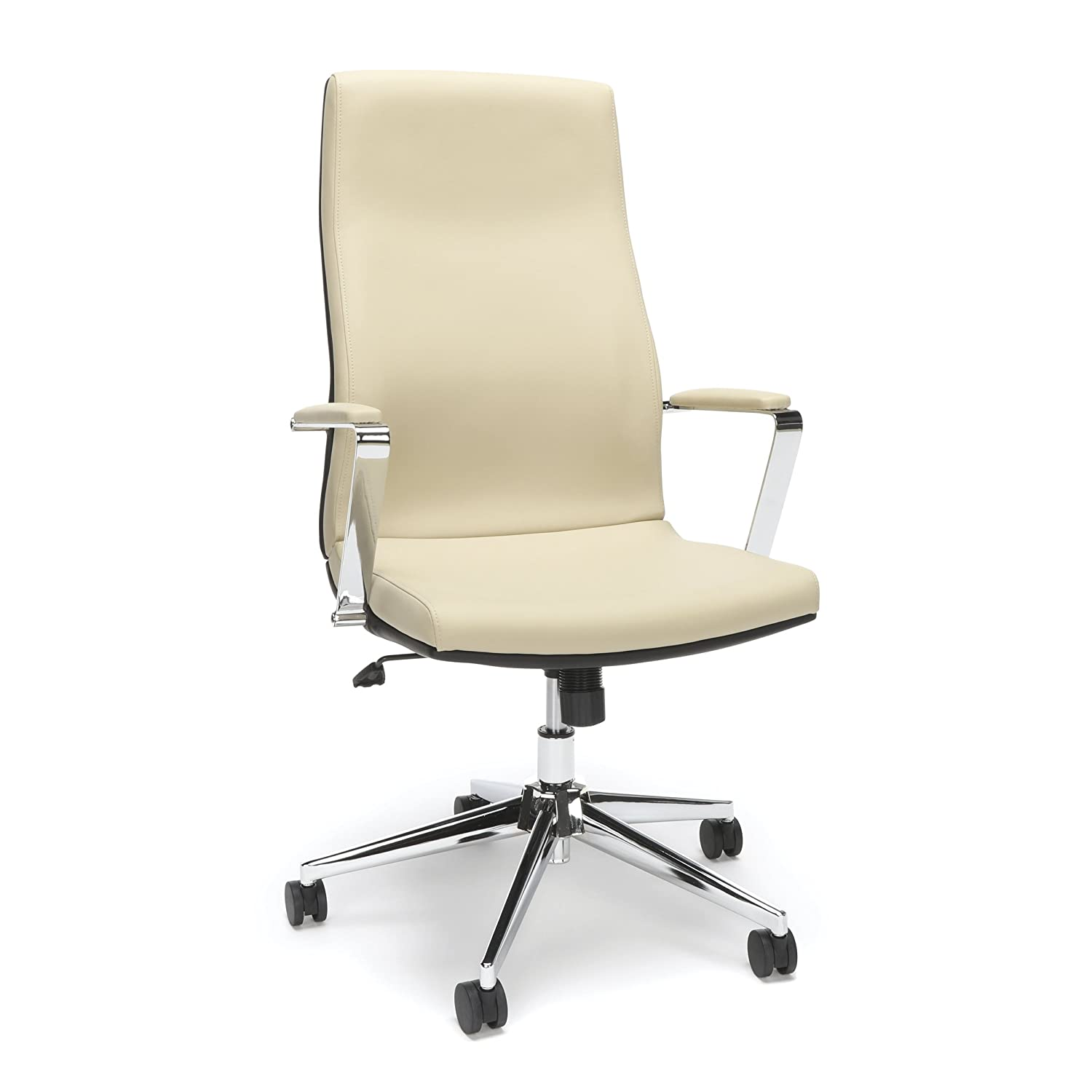 Superb Amazon Com Bonded Leather Manager Chair High Back Office Beatyapartments Chair Design Images Beatyapartmentscom