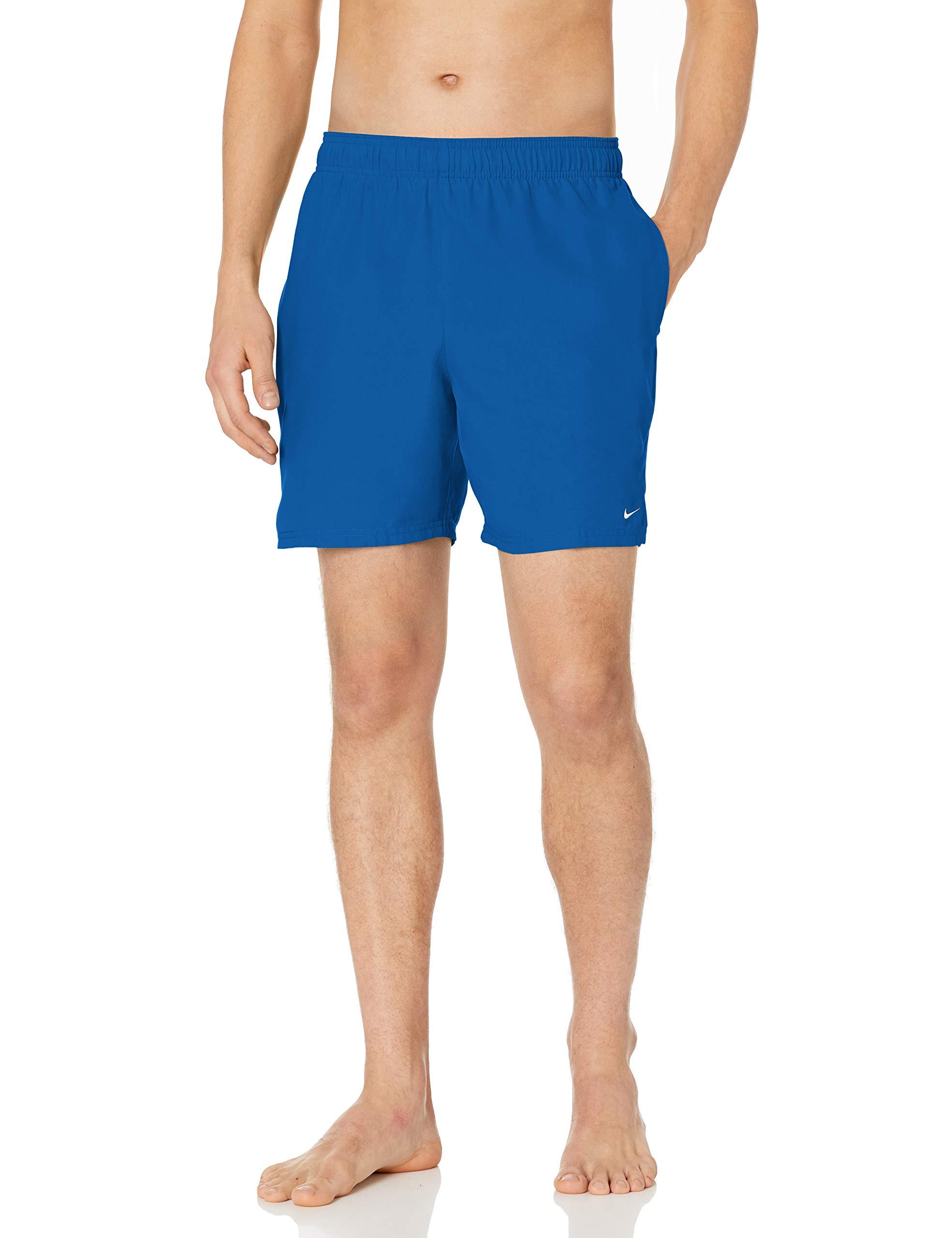 Nike Men's Solid Lap 7″ Volley Short Swim Trunk