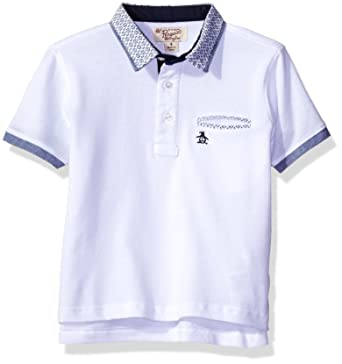 Amazon Com Penguin Boys Short Sleeve Polo Shirt More Styles