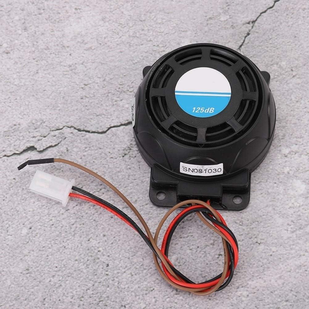 KSTE 105-125dB Motorrad-Fernbedienung Alarm Horn Anti-Diebstahl-Sicherheitssystem