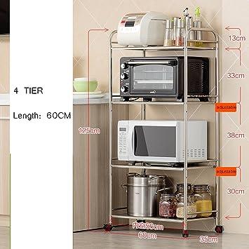 Große Mikrowelle Rack Küche Zähler Und Schrank Regal 5 Tier ...