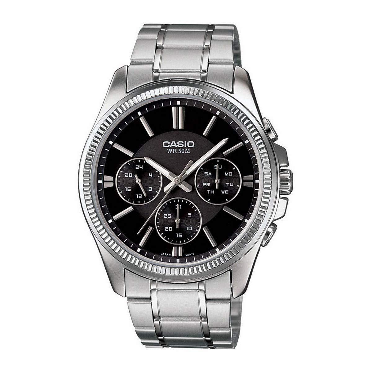 CASIO Reloj con Movimiento Cuarzo MTP-1375D-1