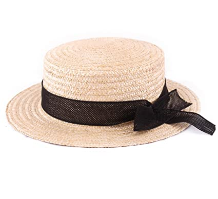 5c4f949ea99 Classic Italy - Boater Hat Men L Équinoxe - Size 63 cm  Amazon.co.uk ...