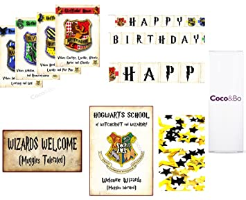 3c09ec1bc89c3 Paquete Platinum de decoración para salón de fiesta Coco   Bo. Casas  Hogwarts