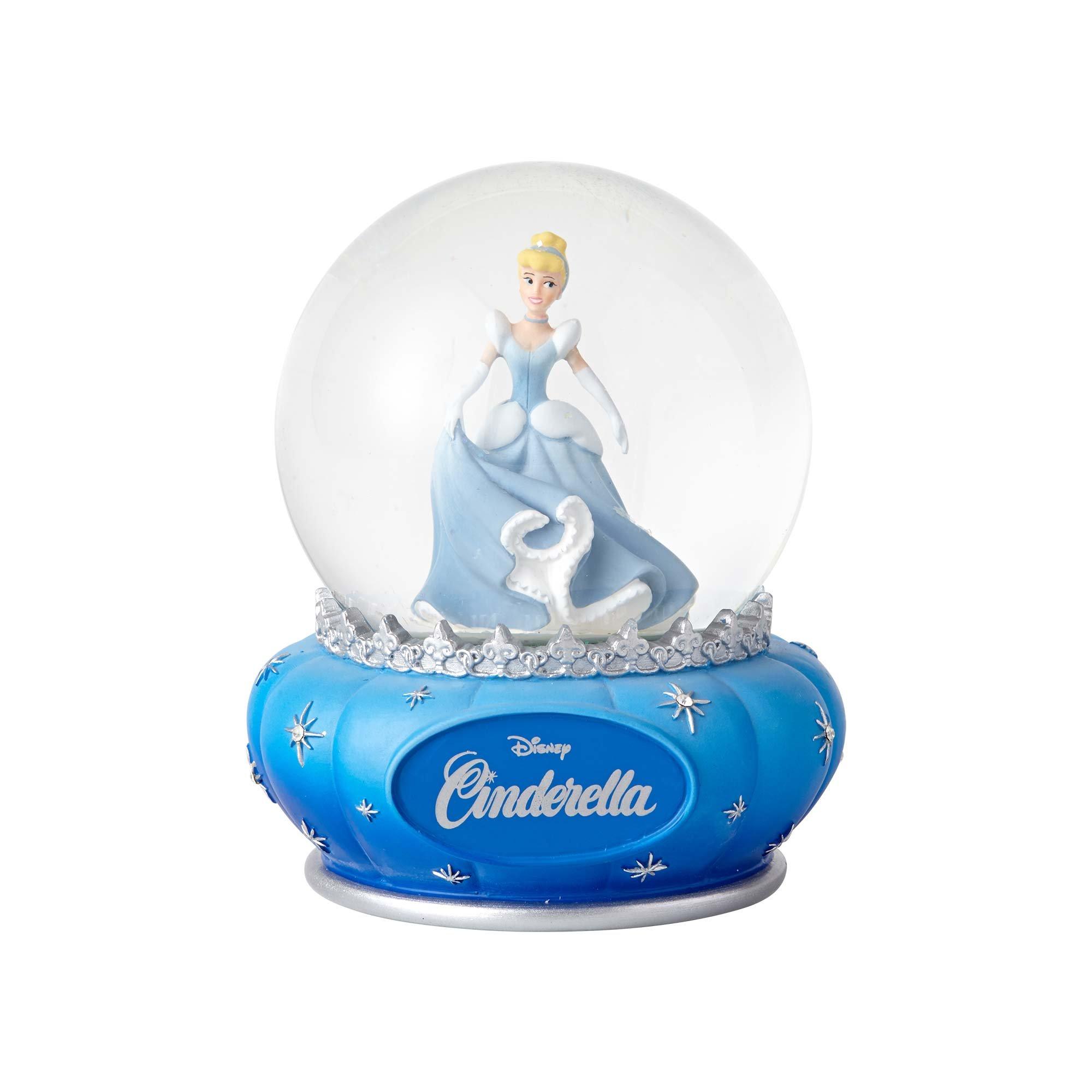 "Enesco Disney Showcase Cinderella, 5.5"" Stone Resin and Glass Waterball"