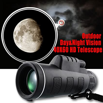 Image result for 40x60 mobile monocular moon view