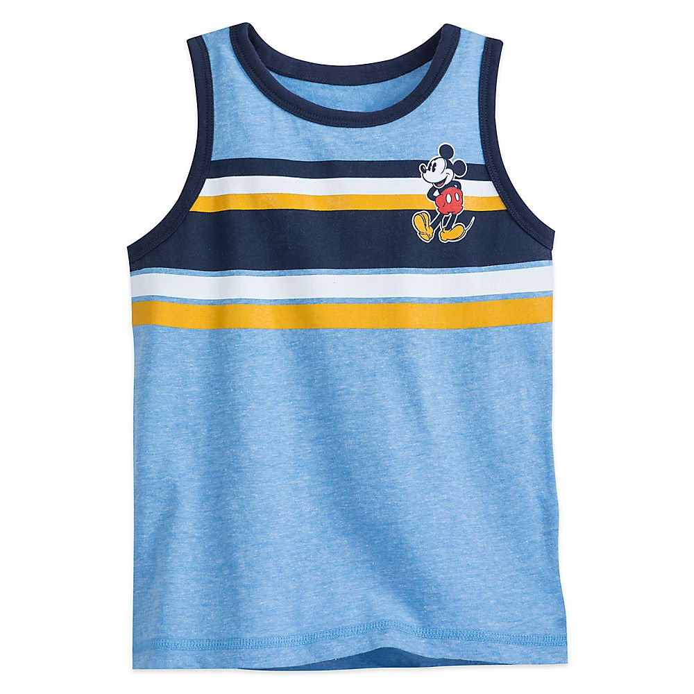 Disney Mickey Mouse Tank T-Shirt for Boys Size S (5/6) 456227348874