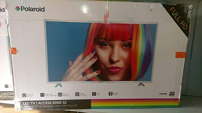 Polaroid LED TV 52 pulgadas Full HD: Amazon.es: Electrónica