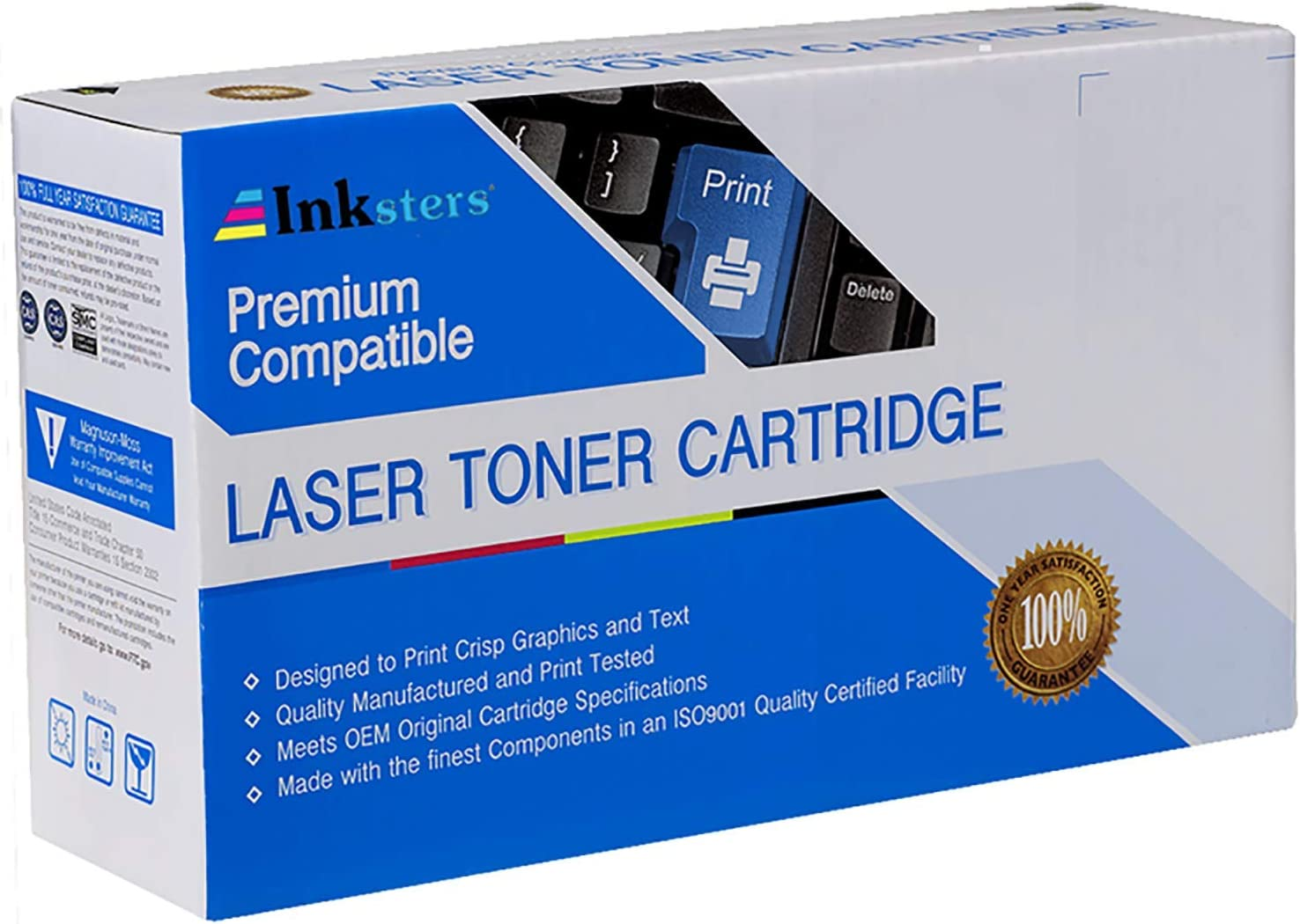 Inksters Compatible Toner Cartridge Replacement for HP Q6511X Black - 12,000 Pages