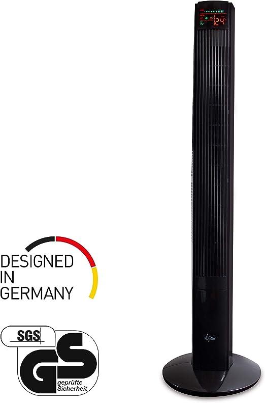SUNTEC ventilador de torre CoolBreeze 12.000 TV [118 cm altura, 3 ...
