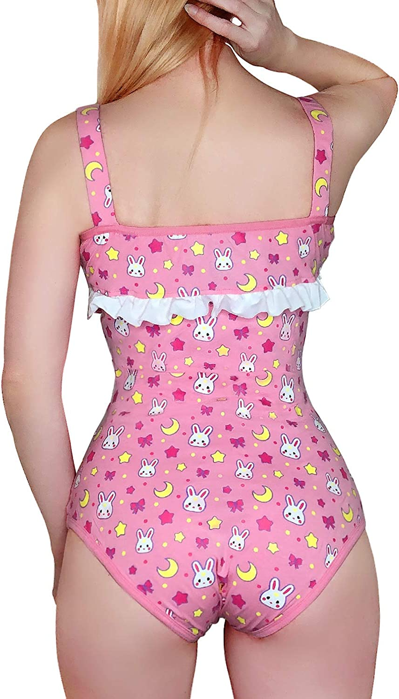 LittleForBig Pyjama en coton avec barboteuse Usagi Moon