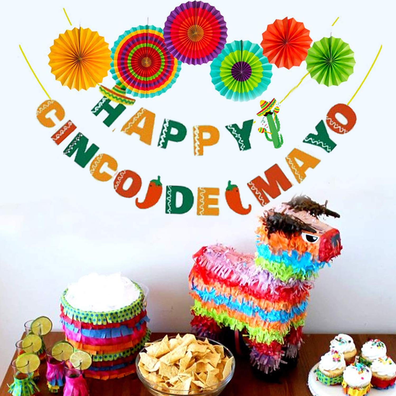Cinco De Mayo Decorations Final Fiesta Party Supplies And Mexico Fiesta Banner Mexican Fiestatheme Party Decor Bachelorette Party Decorations