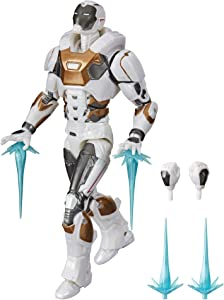 Hasbro Marvel Legends Series 6-inch Collectible Action Figure Toy Gamerverse Marvel's Avengers Starboost Armor Iron Man, 6 Accessories