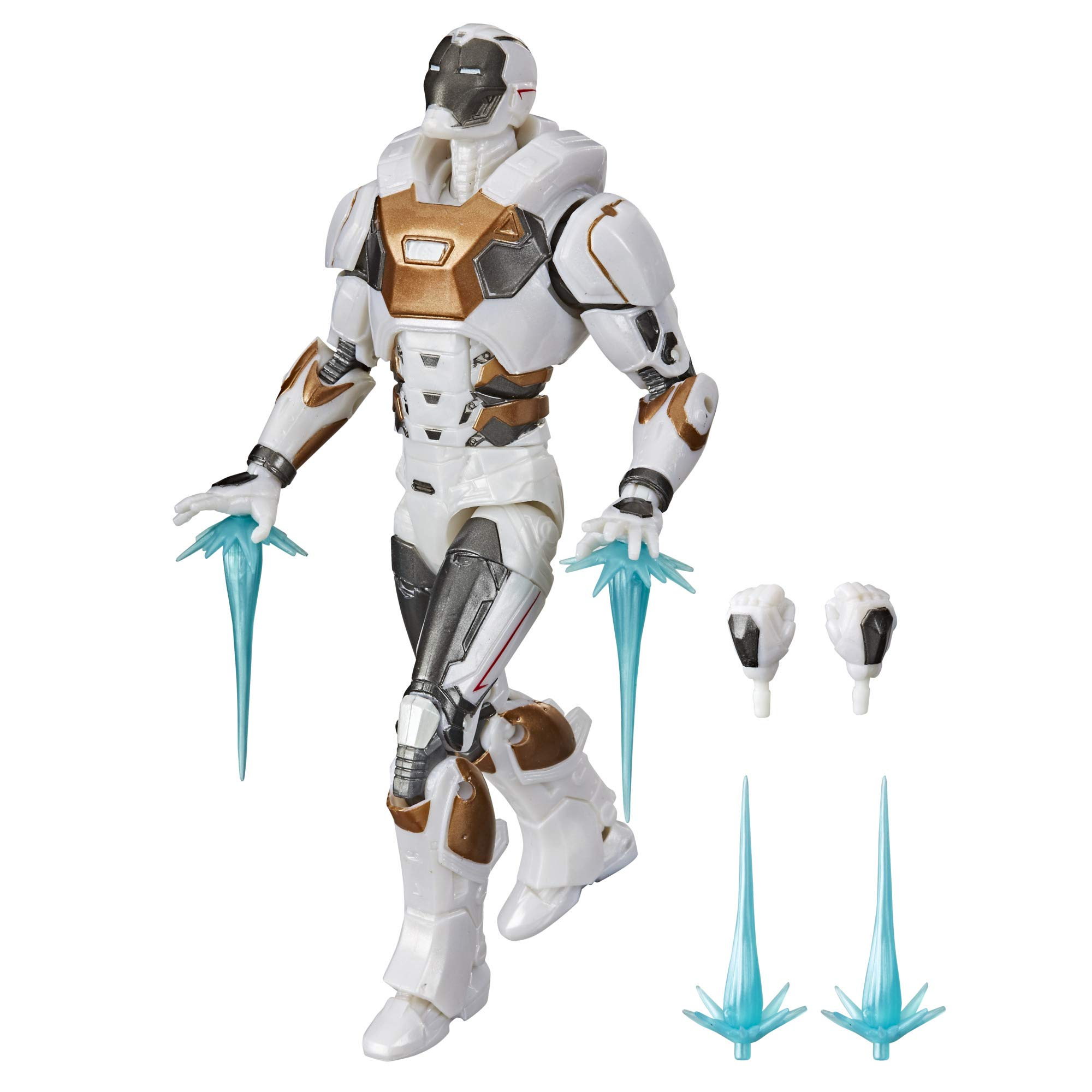 MARVEL Hasbro Legends Series 6-inch Collectible Action Figure Toy Gamerverse Avengers Starboost Armor Iron Man, 6 Accessories