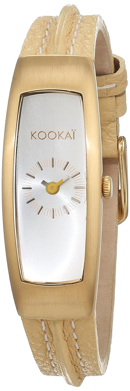 Kookai Damen-Armbanduhr Analog Quarz Leder SPE1612-0002