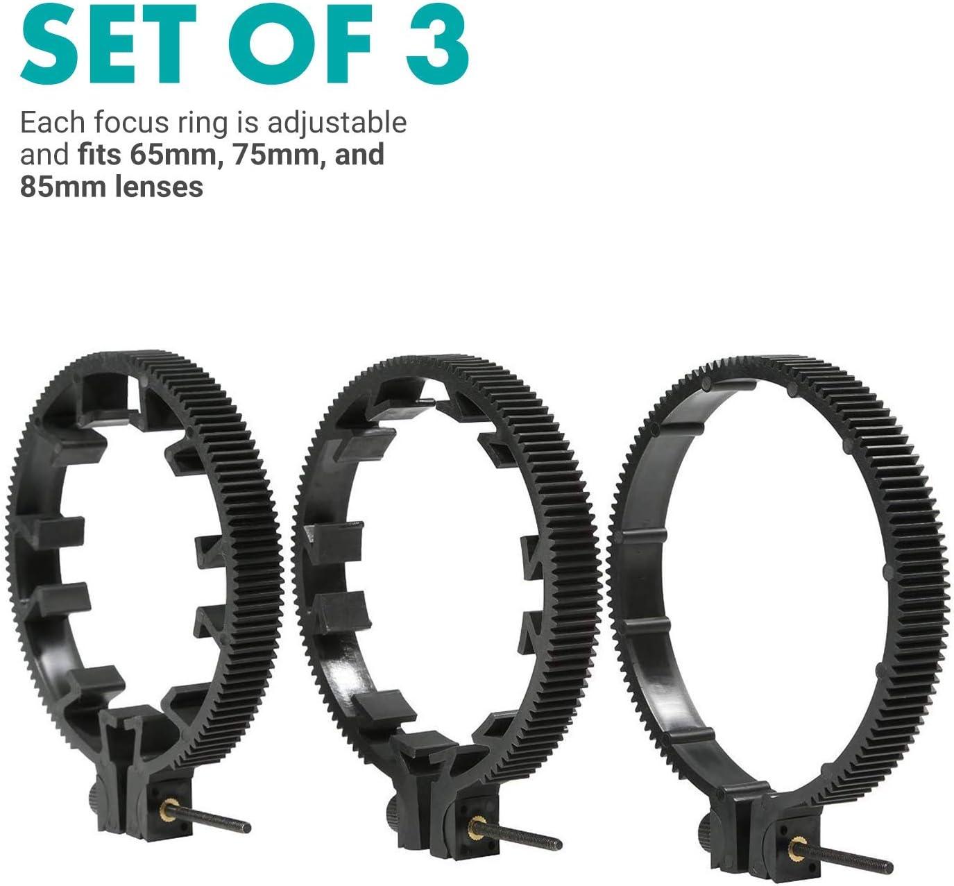 Shape Lens Gear Kit 0.8 Pitch for Still Lenses