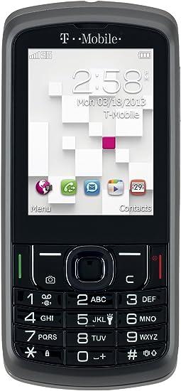 Alcatel Sparq II 875 T-Mobile - Teléfono celular con teclado QWERTY deslizable, color negro
