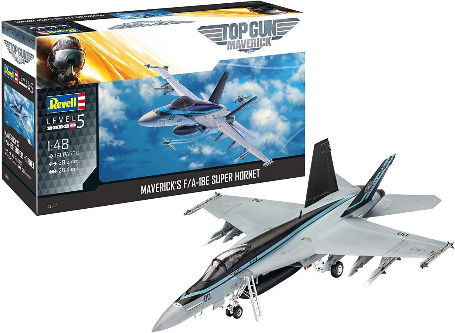 Revell 03864 F/A-18E Super Hornet - Maqueta de avión (1:48, 38,1 cm, sin lacar): Amazon.es: Juguetes y juegos