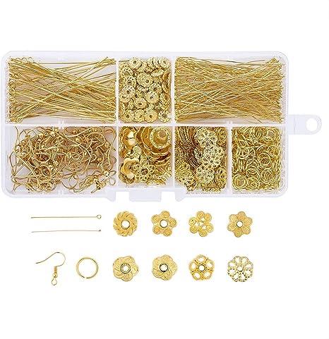 Large 30mm Disc Beads Earrings Jewellery Making Kit