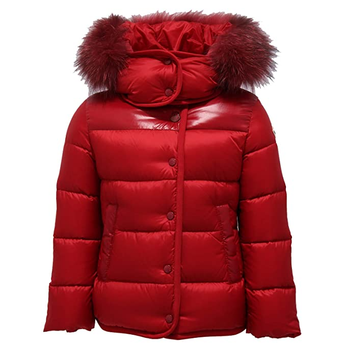 MONCLER 8040Y Piumino Bimba Girl Red ARMANDINE Jacket ...