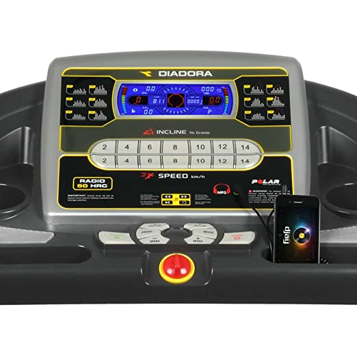 Cinta de Correr Diadora Radio 50 HRC: Amazon.es: Deportes y aire libre
